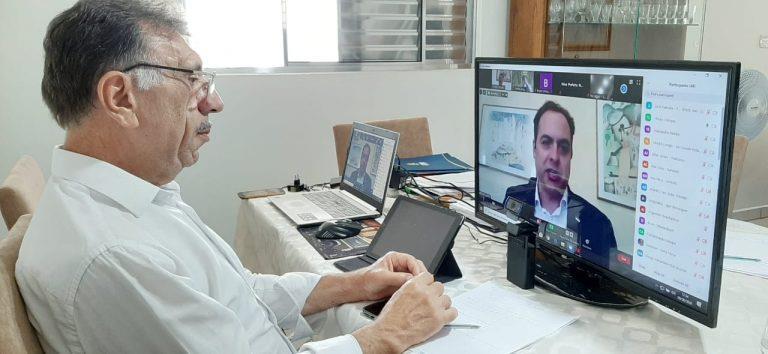 Com Paulo Câmara, AMUPE discute regionalização do plano de convivência com o coronavírus