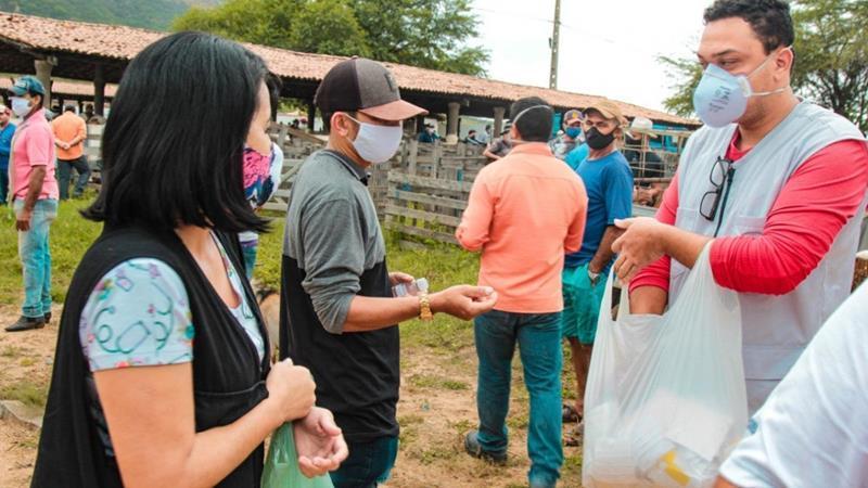 Prefeitura reforça prevenção na reabertura da feira de animais de Serra Talhada