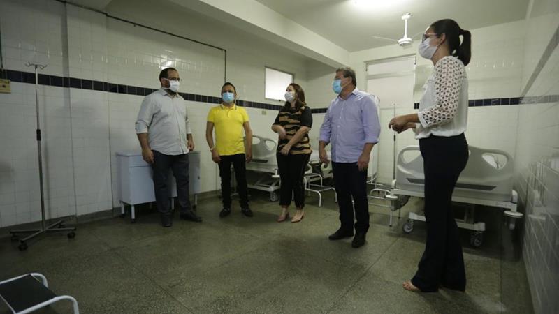 Leitos de Retaguarda recebem pacientes em Serra Talhada
