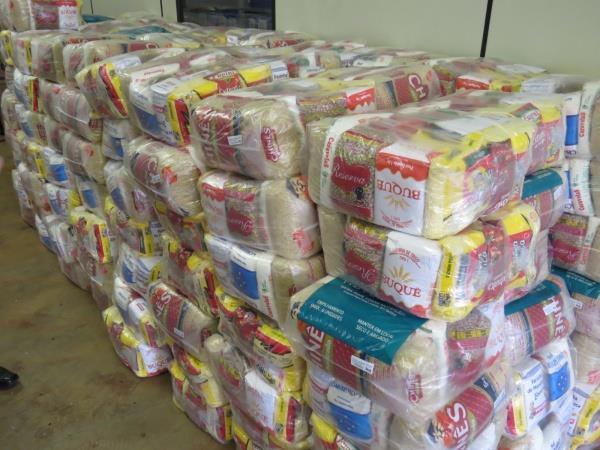 Serra Talhada contemplada com 1.208 cestas básicas para atender famílias em vulnerabilidade