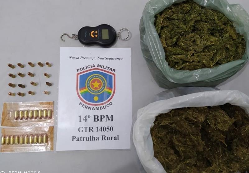 Flores: Polícia apreende munições e desarticula esquema de tráfico de drogas