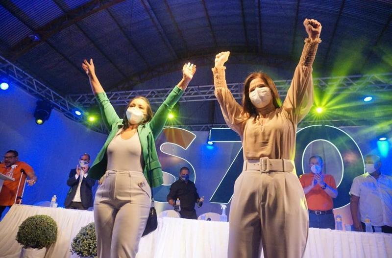 Convenção homologa nomes de Socorro Brito e Eliane Oliveira
