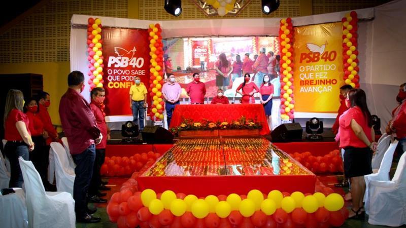 PSB de Brejinho realiza convenção e lança candidatura de Vanderlei à Prefeitura