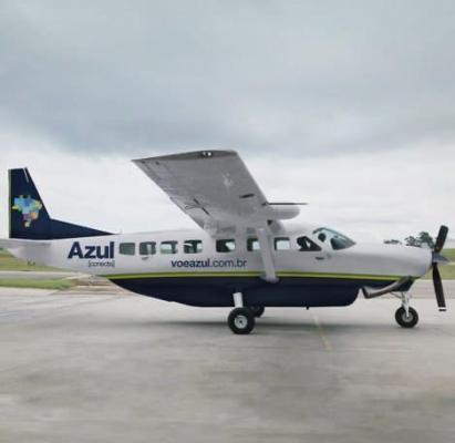 Por deficiências de infraestrutura Azul vai operar em Serra Talhada com avião apenas para 9 passageiros