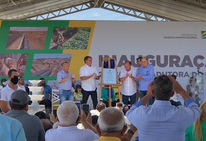 Sem convite, Paulo Câmara não foi ao ato de Bolsonaro no Pajeú
