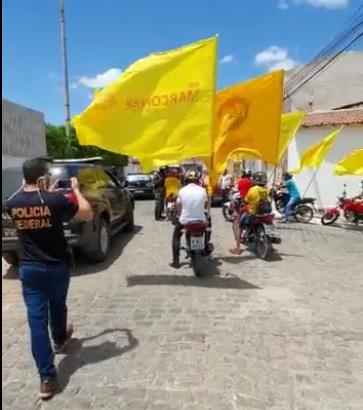 Polícia Federal detêm militantes de candidato a prefeito de Salgueiro que estavam desrespeitando resolução do TRE-PE