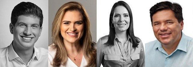 Pesquisa Datafolha no Recife: João Campos, 31%; Marília Arraes, 18%; Delegada Patrícia, 16%; Mendonça Filho, 15%