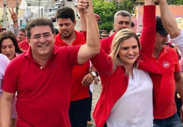 """""""Estou na Luta"""", declarou Duque sobre campanha de Marília no Recife"""