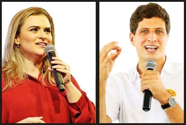 Folha/Ipespe: Marília tem 54% dos votos válidos e João, 46%