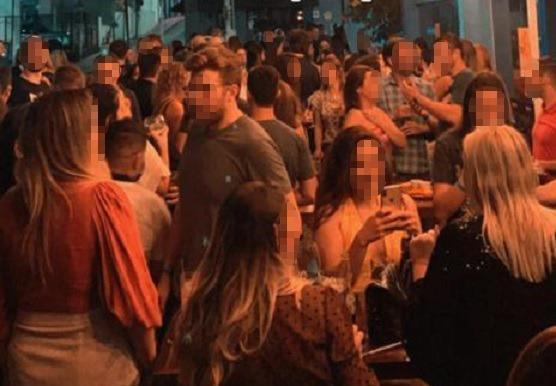 Em ST dono de bar é detido por militares por desobediência e descumprimento de medidas sanitárias