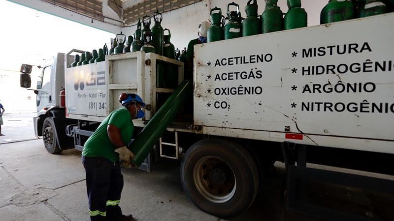Governo de Pernambuco diz que forneceu 8.495 m³ de oxigênio para 44 municípios