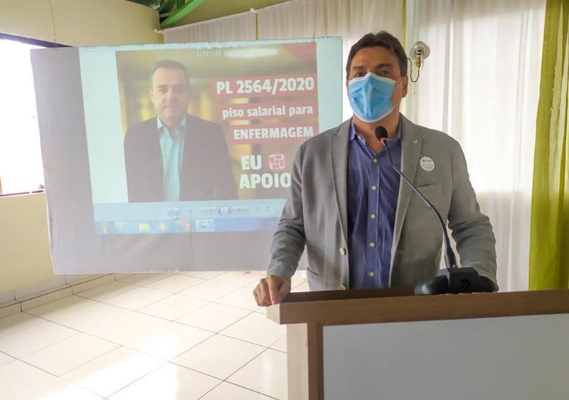 EMFERMAGEM: Marconi destaca luta de Danilo Cabral pela aprovação do piso salarial