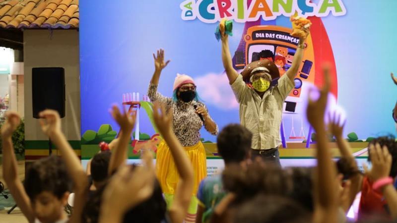 Prefeitura leva Caravana da Criança aos bairros e Praça Sérgio Magalhães em Serra Talhada